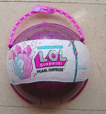 LOL Surprise Pearl Surprise Mermaid Limited Edition pink Große Kugel MGA NEU/OVP