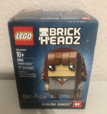 LEGO BrickHeadz Hermione Granger (41616) New & Factory Sealed