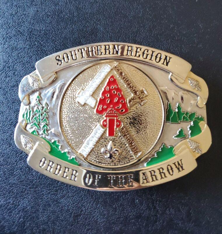 Order Of The Arrow OA 2012 Southern Region Gathering Belt Buckle BSA Boy Scouts