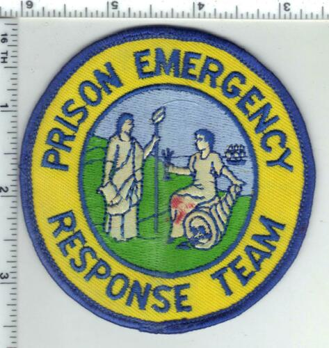 Prison Emergency Response Team (North Carolina) 1st Issue Uniform Take-Off Patch
