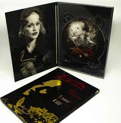 Madonna EVITA (Gold Cover Edition, Thailand DVD Limited Digipak Slipcase) RARE