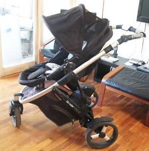 Steelcraft Strider Plus - Dual facing, newborn baby jogger, pram Princes Hill Melbourne City Preview