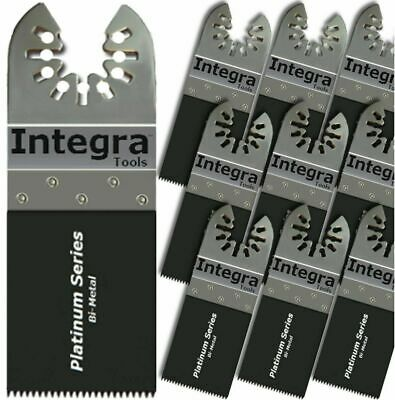 Integra Tools 10 Pc Bi-metal Nail Eater Oscillating Saw Blades Fits Fein Bosch