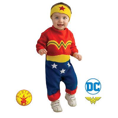 Wonder Woman Romper Baby Infant Child Halloween Fancy Dress Superhero S: 6-12 M  ()
