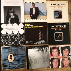 Vinyl Records For Sale - See Description for prices
