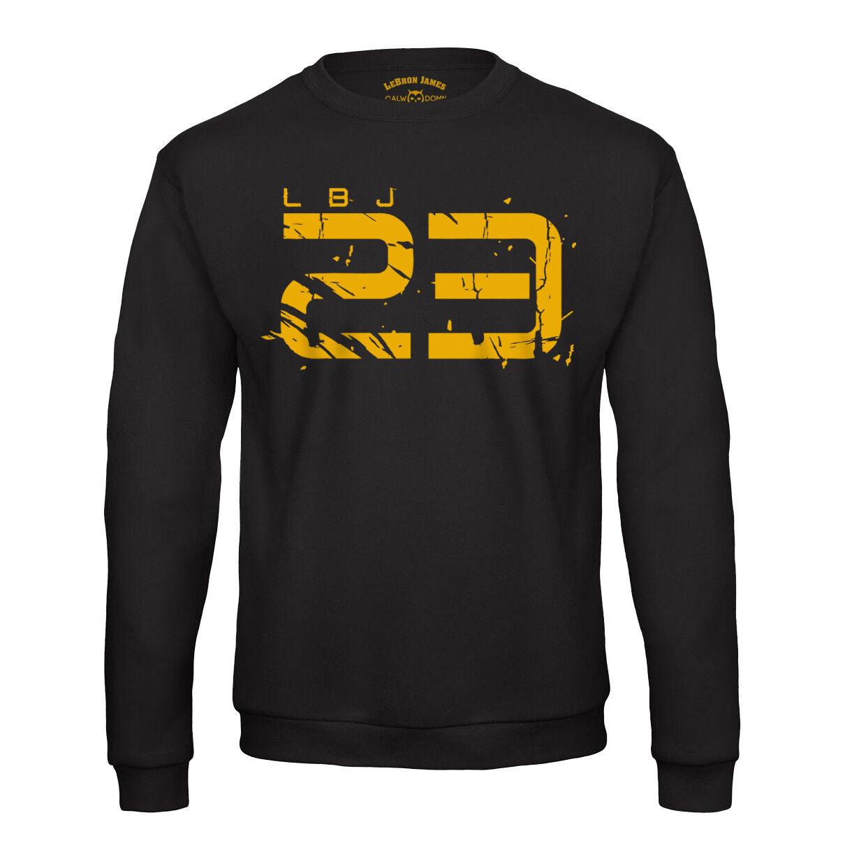 LBJ 23 Sweatshirt LeBron James Los Angeles Lakers Pullover Basketball Shirt