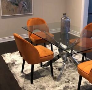 Glass dinning table for sale