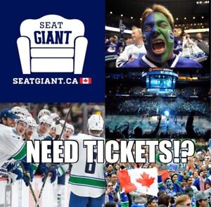 VANCOUVER CANUCKS PRE-SEASON TICKETS FROM $16 CAD!!