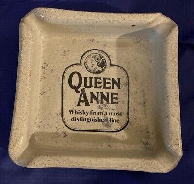 RP3378 Vtg Moria English Stoneware Queen Anne Ashtray Ad Advertising