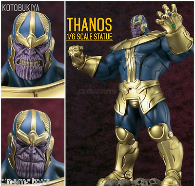 Marvel Comics Thanos With Infinity Gauntlet Kotobukiya Fine Art Statue 1/6 Scale -  - ebay.it