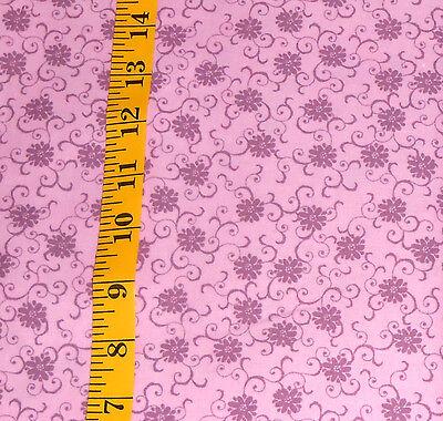 Fabric   Jo Ann Quilt Blocks  Garden Trellis  Mulberry Tonal 100  Cotton 1 25 Yd