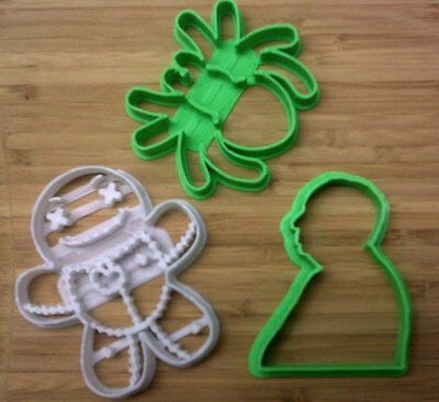 Halloween Cookie Cutters 2 - Hitchcock, Spider, Voodoo Doll - Choice of Sizes](Halloween Cutters)