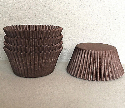 Brown Cupcake Liners, Brown Cupcake Wrappers, Brown Baking Cups