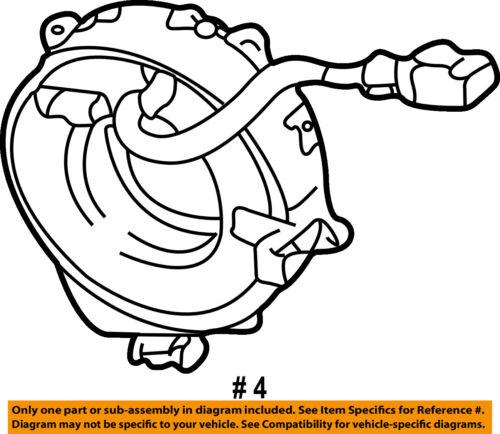 Toyota Oem Airbag Air Bag Clockspring Clock Spring 8430660050