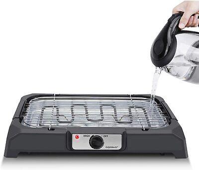 Aigostar Lava 31LDQ Barbacoa Eléctrica Grill 2000W uso con agua evita los...