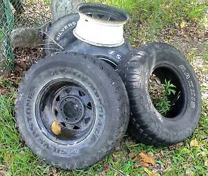 """RIMES AND TYRES 4x4 15""""  31/10.5( REASONABLE OFFER) Tweed Heads Area Preview"""