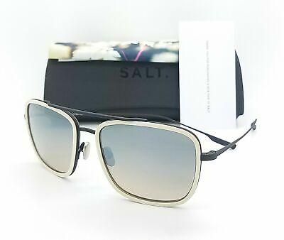 NEW SALT OPTICS Harrison sunglasses Oyster Black Grey Mirror Gradient (Salt Optic)