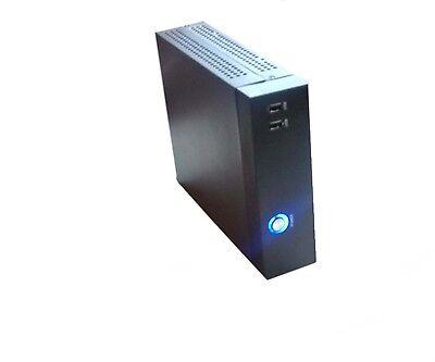 NEW Mini ITX Silent HTPC Fanless Desktop PC DIY Empty Computer Case Chassis Only