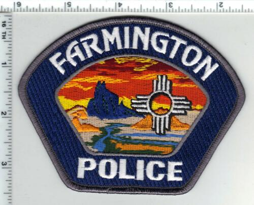 Farmington Police (New Mexico) Shoulder Patch - from the 1980