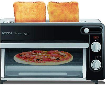 Tefal Toast & Grill TL6008 Tostador y Horno 2 en 1, 1300W...