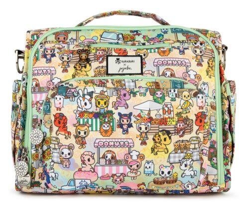 Ju Ju Be Tokidoki X BFF Baby Diaper Bag Backpack w Changing Pad Toki Market