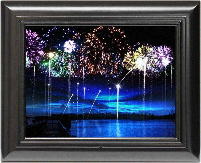 FrameWizard 15-Inch Digital Picture Frame - Black