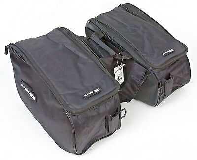 Supafactory Saddle Bags / Panniers For Motorcycles & Motorbikes (SF-SB-A1 )