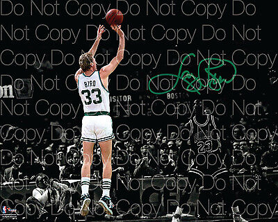 Larry Bird Boston Celtics Signed 8X10 photo picture poster autograph RP