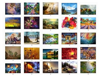 Personalized Return Address Labels Beautiful Paintings Buy 3 Get 1 Free P2