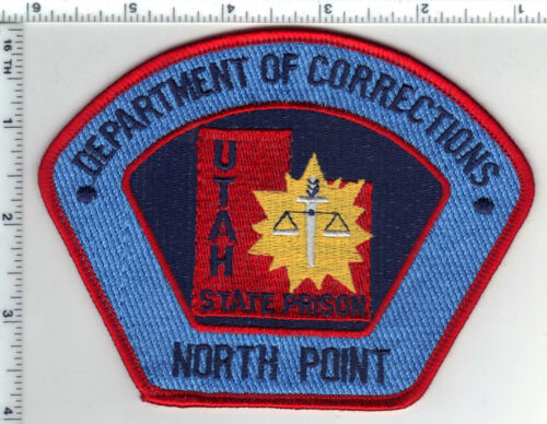 Utah State Prison Dept. of Correction North Point Shoulder Patch from the 1980
