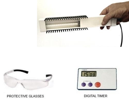 Lamp / Comb / brush for scalp Psoriasis Vitiligo Narrowband UVB phototherapy