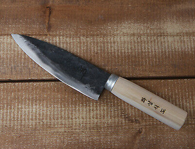 Hwasung Wood Rail Cast Iron Forged Knife Sashimi Deba Chef Kitchen Hand KOREA 14