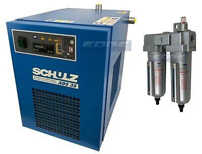 Schulz 35 Cfm Refrigerated Compressed Air Compressor Dryer 115v Complete Kit