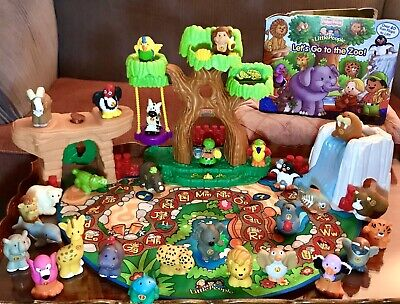 Little People Interactive A-Z Learning Zoo (26 Animals)Read&Play COMPLETE MINT!