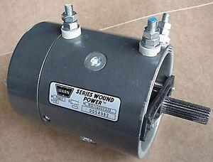 Genuine warn 77893 62518 75937 new replacement 12 volt Warn winch replacement motor