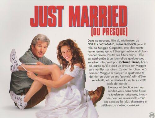 JULIA ROBERTS  RICHARD GERE 8 french Lobby Cards : RUNAWAY BRIDE