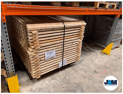 Open Boarded Timber Deck Rough Sawn/Racking Storage Level 1320mm x 1200mm x 32mm