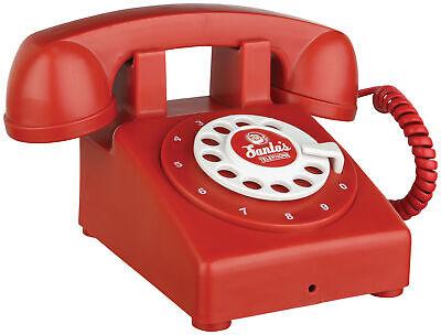 De Santa Teléfono Animado Navidad Accesorios Decoración Parlante Nuevo