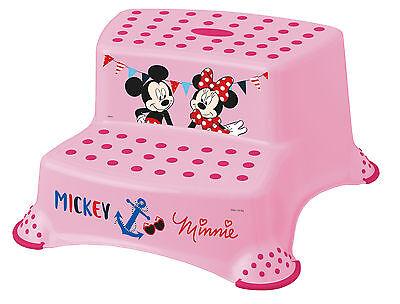 Tritthocker zweistufig Disney Minni Maus Hocker Trittschemel bis 120 kg