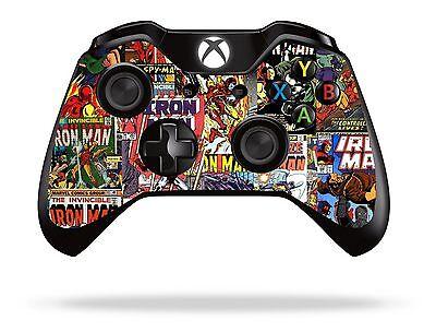 Comics Superhero Xbox One Remote Controller/Gamepad Skin / Cover / Vinyl  xb1r8