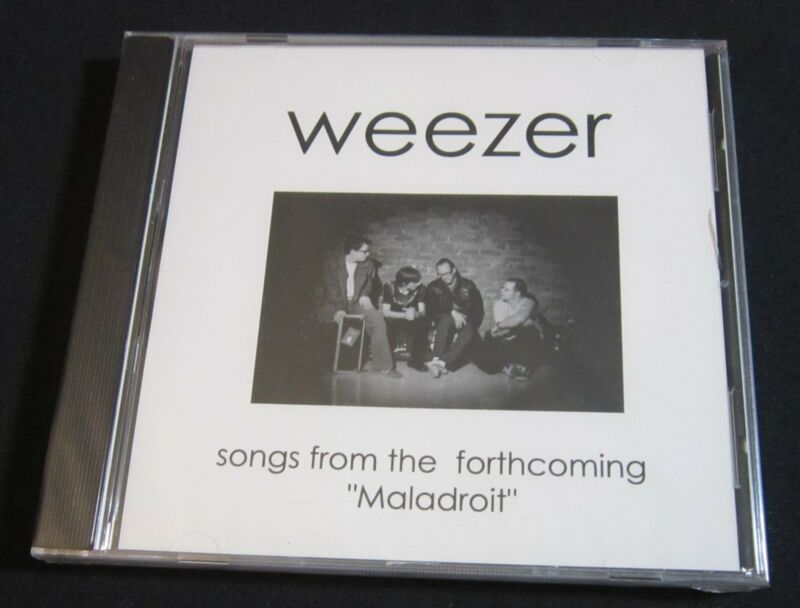 WEEZER 'MALADROIT' 2002 PROMO CD SAMPLER—SEALED