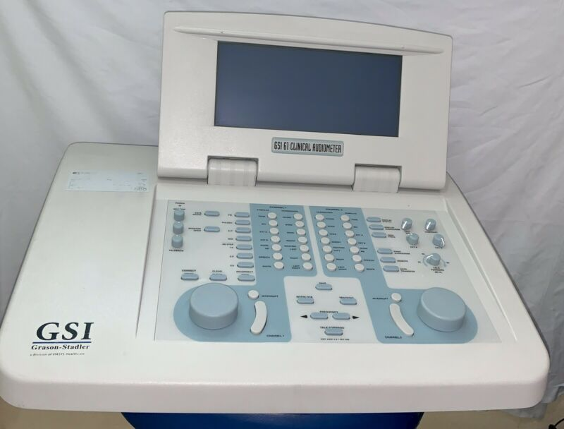 GSI 61 CLINICAL AUDIOMETER