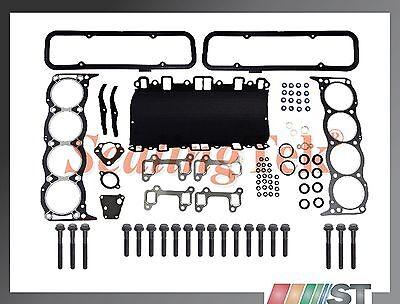 Fit Land Hobo 3.9/4.0/4.2/4.6L V8 OHV Engine Cylinder Head Gasket Set w/ Bolts
