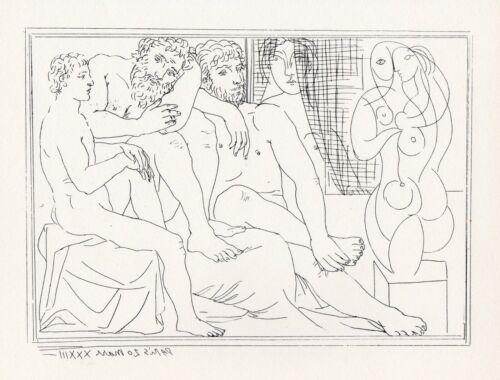 Pablo Picasso, Sculptors, Models and Sculpture, Vollard Suite