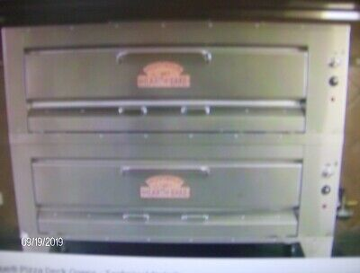 Montague Pizza Oven Double Decker Gas Llarge Ovens