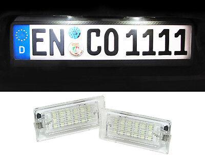 2x LED KENNZEICHENLEUCHTE BMW X3 E83 X5 E53 KENNZEICHENBELEUCHTUNG 51137062293