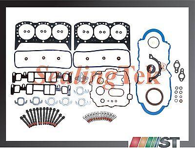 Fit 96-06 GM 4.3L V6 Vortec Engine Full Gasket Set w/ Bolts kit 4300 CPI motor comprar usado  Enviando para Brazil