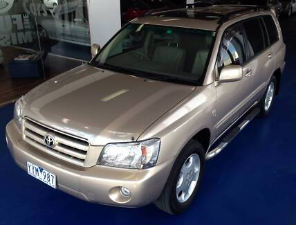 2004 Toyota Kluger Grande Wagon Hoppers Crossing Wyndham Area Preview