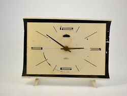 Vintage  Alarm clock PRIM Czechoslovakia Retro Old Desk table watch decor