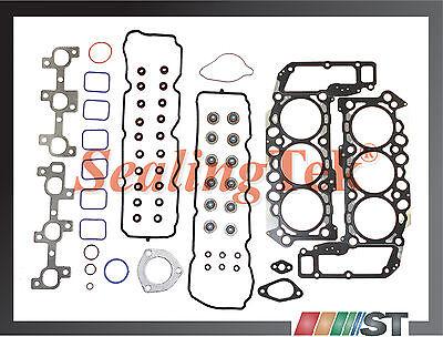 05-13 Dodge Jeep 3.7L Engine Cylinder Head Gasket Set V6 Power-Tech motor VIN K